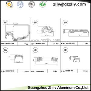 Building Material Aluminum Heat Sink for Automobiles pictures & photos