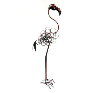 Rusty Metal Absorbing Crane Animal Home and Garden Decoration pictures & photos