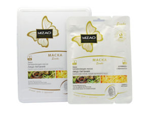 Meizao Snake Moisturizing Non Woven Face and Neck Mask Nutrition pictures & photos