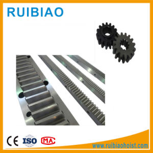 Gjj, Baoda Construction Hoist Spare Parts Rack and Pinion Gear pictures & photos