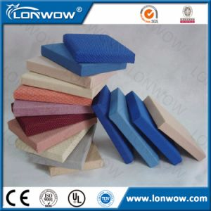 China Wholesale Fabric Covered Fiberglass Acoustic Wall Panel pictures & photos