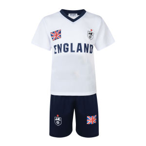Boys Football Knit Short Set Sportwear Tracksuit (A741)