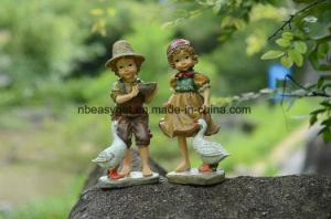 Resin Figures Garden Decoration, Outdoor Statue, Yard Decoration Esg10129 pictures & photos