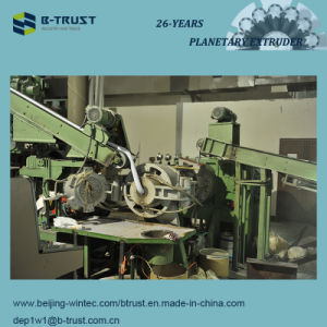 Straining Extruder for Calendered PVC Film Line pictures & photos