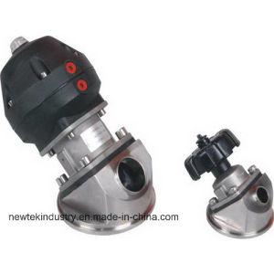Sanitary Pneumatic Tank Bottom Diaphragm Valve pictures & photos