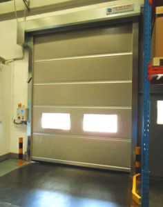 PVC Roller Shutter Doors Automatic Rapid Shutter Door pictures & photos