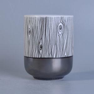 Custom Unique Design Hand Paint Ceramic Candle Holders for Decor pictures & photos