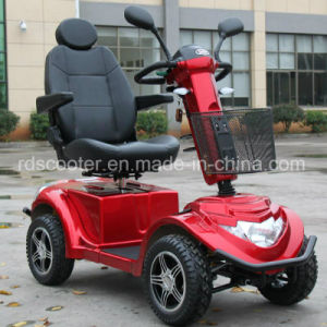 1400W Motor 100ah Battery Heavy Duty Electric Mobility Scooter pictures & photos