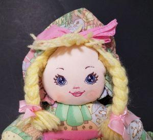 ICTI Factory Custom Cloth Rag Doll with Yarn Hair pictures & photos