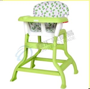 PP Plastic High Chair for Baby Dinner pictures & photos