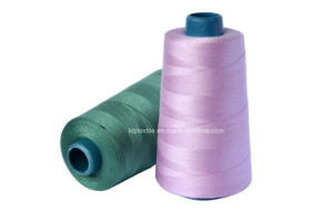 Textile of 100% Raw Dyed Polyester Sewing Thread pictures & photos