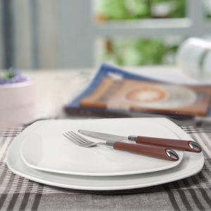 Wholesale Porcelain Bakeware Square Plates for Restaurant pictures & photos