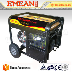 6kw Portable Single Phase Electric Start Generator Em5500he pictures & photos