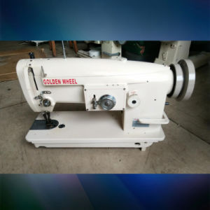 Used Golden Wheel Single Needle, Lockstitch Zigzag Sewing Machine (CS-2160) pictures & photos