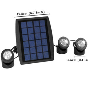 4.5W RGB LED Outdoor LED Solar Underwater Light pictures & photos