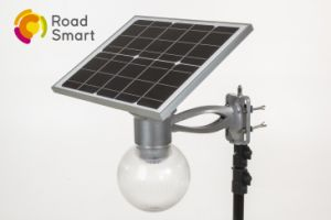 4W 8W 12W Solar Garden Lamp Capable of Arbitrary Rotation of Solar Board Angle pictures & photos