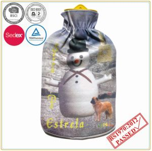 Hot Water Bottle with Printing Fleece Cover pictures & photos