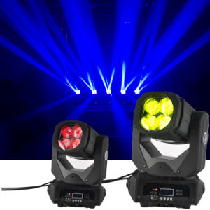 Moving Head 4X25W Colorful 130W LED Super Beam Light pictures & photos