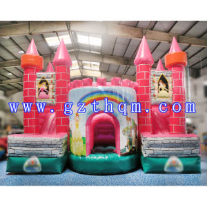 Beautiful Princess Castle Inflatable Bounce House/Inflatable Baby Hopping Bounce Castle pictures & photos