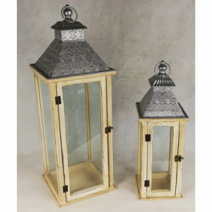Antique Garden Decoration Garden Candle Lantern pictures & photos