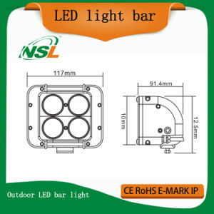 40W LED Light Bar LED Crees Double Row LED Light Bar Cheap LED Light Bars LED Outdoor Flood Light pictures & photos