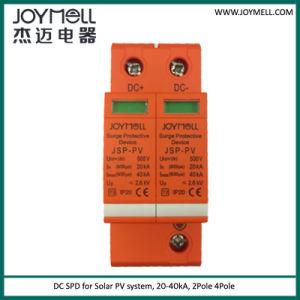 Solar PV 500V 800V 1000V 1200V 1500V DC SPD pictures & photos