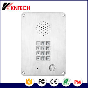 Emergency Telephone Knzd-06 Kntech Elevator Intercom Stainless Steel Rust Proof Phone pictures & photos
