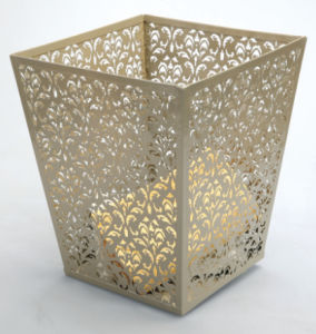 Office Accessories for Her/ Metal Home Organization Waste Bin pictures & photos