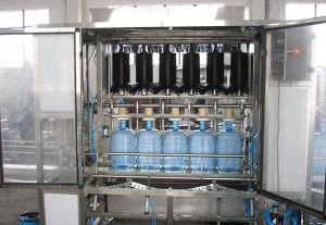 CE QGF-900 5 Gallon Bottle Water Filling Machine Barreled Production Line