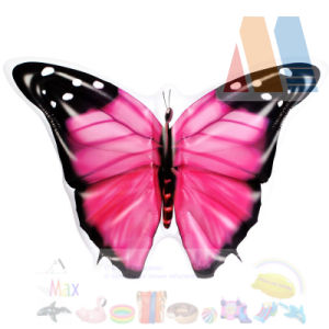 PVC Blow up Pink Color Butterfly Pool Float Island pictures & photos