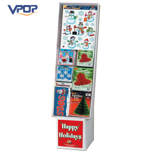 Cardboard Christmas Holiday Decorative Display Cardboard Hook Stands