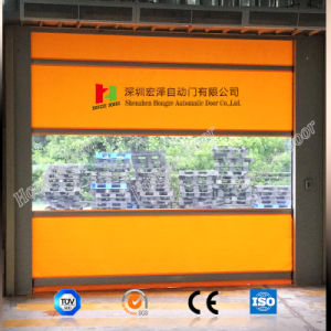 PVC Industrial Fabric High Speed Roll up Door with Ce Certification (Hz-FC015) pictures & photos