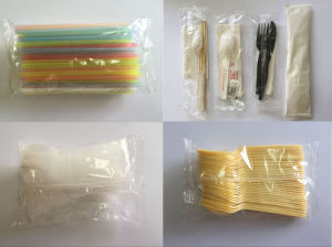 High Speed Automatic Plastic Knife Packing Machine (PPBZJ-450) pictures & photos
