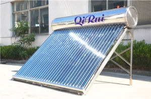 Low Pressure Vacuum Tube Solar Water Heater Collector with Ce pictures & photos
