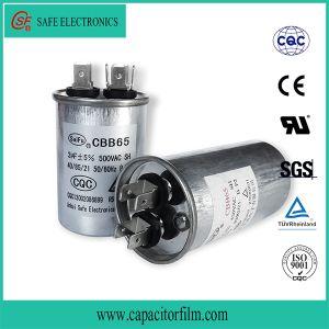 Cbb65 Aluminum Case Anti-Explosion Oil Filled Capacitor pictures & photos