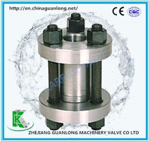 Wafer Insert Vertical Elevated Lift Type Non Return Check Valve (H72H) pictures & photos