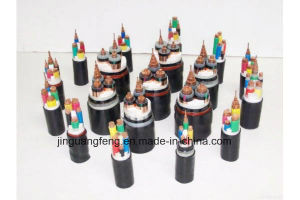 PVC Insulated PVC Sheathed Fire Resistant Power Cable (0.6-1KV) pictures & photos