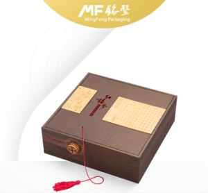 Retro High-End Wooden Box for Precious Metal Display pictures & photos