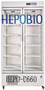 2~8 Degree 660 L Upright Style Medical Refrigerator (HEPO-U660) pictures & photos
