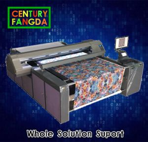 Digital Belt Printer for Fabric Roll to Roll Printing pictures & photos