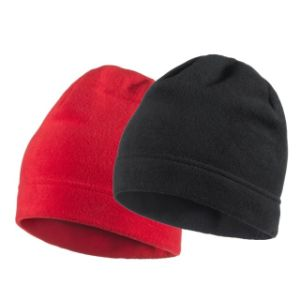 China fashionable design high quality custom red and black fashionable design high quality custom red and black embroidery fleece beanie hat pattern fleece hat making pronofoot35fo Choice Image