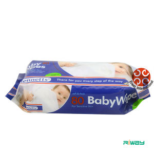 Baby Wipes with Resealable Cover Lid Wet Tissues Organich Bamboo Wipes pictures & photos