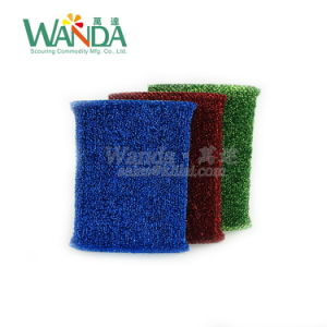 Household Cleansing Sponge Washing Sponge Scourer Pad for Cleaning Job pictures & photos
