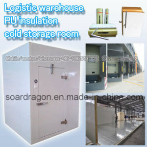 Logistic Warehouse PU Insulation Cold Storage Room pictures & photos