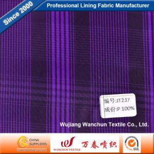 High Quality Polyester Dobby Fabric for Garment Lining Jt237