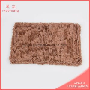 Solid Color Long Life Microfiber Chenille Mat pictures & photos