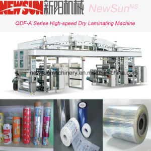 QDF-A Series High-Speed Film Dry Lamination Machine pictures & photos