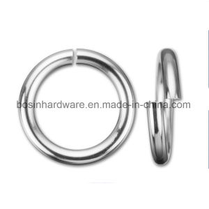 Silver Plated Metal Open Jump Rings pictures & photos
