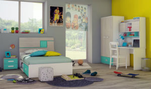 Popular Modern Kids Furniture Colorful Wooden Bedroom Furniture (GAUSS) pictures & photos