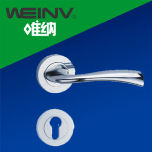Zinc Alloy Door Lever Handle pictures & photos